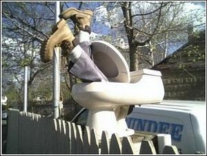 David Blaine - Guy in Toilet