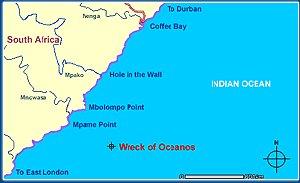 Location of Oceanos