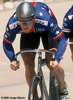 Sky Christopherson on Bike