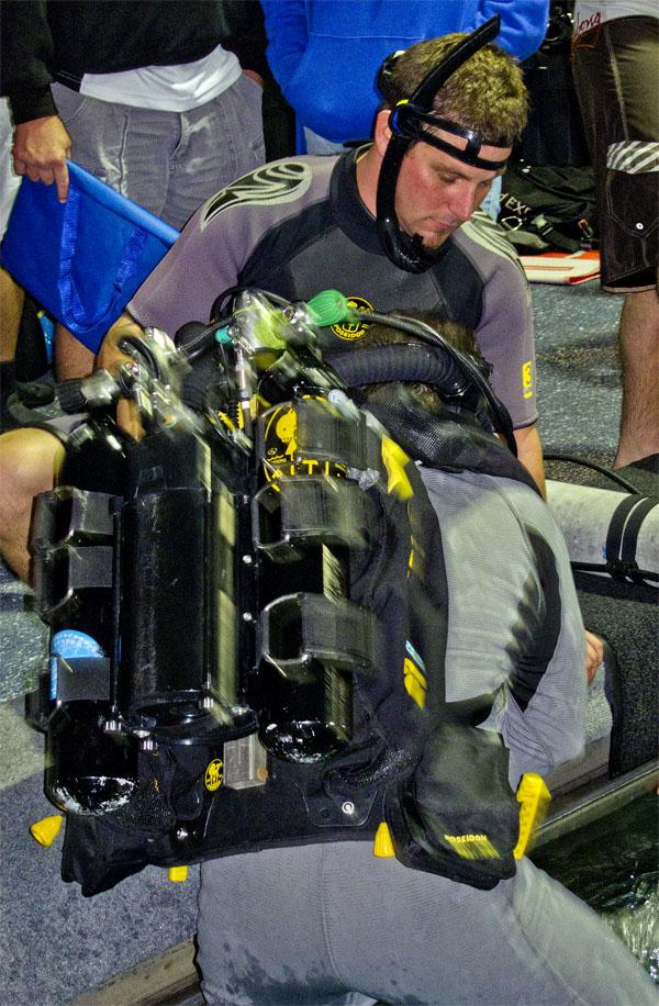 PADI Tec Xplor Day scuba technical diving  technical diving scuba PADI dema