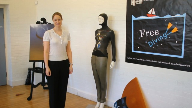 Finding a 'Hidden Talent' for freediving freediving  tv freediving emma farrell