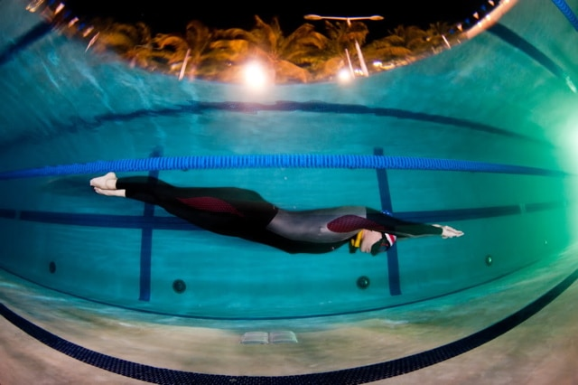 Jenna McGrath New USA Freediving Record freediving  team USA performance freediving international freediving dynamic apnea DYN AIDA