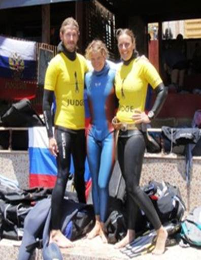Natalia Molchanova Re Claims Constant (unassisted) World Record freediving competition records  world record news natalia molchanova freediving constant weight CNF
